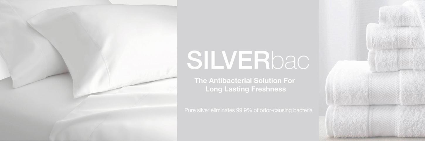 SILVERbac the antibacterial solution for long lasting freshness